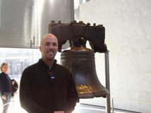 The Rebel next to the Liberty Bell